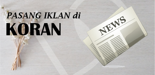Pasang Iklan di Koran