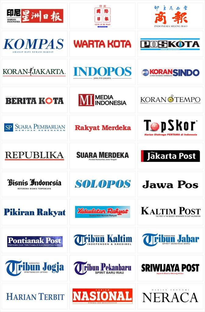 Pasang Iklan Koran (Logo-Logo)