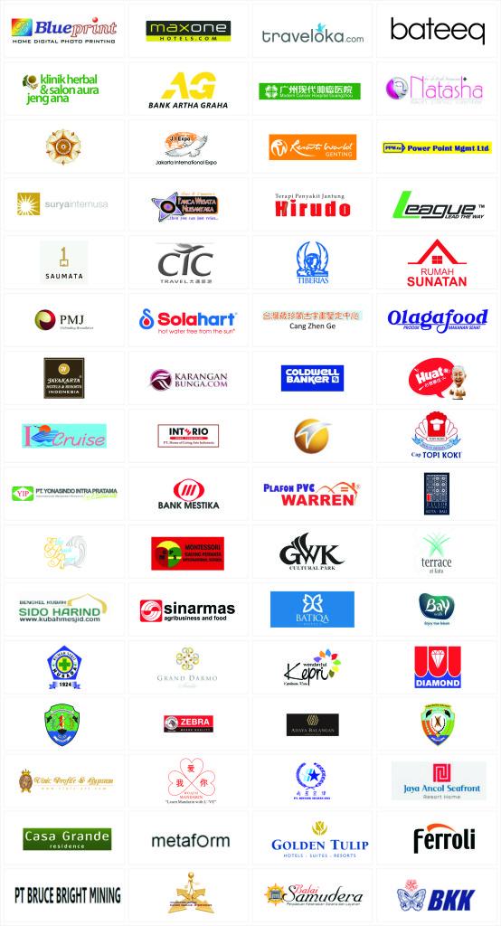 Klien-klien yang sudah pernah pasang iklan via Doremindo Agency (DO'A)