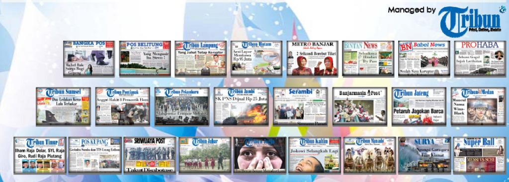 Koran Tribun - Kompas Gramedia Group
