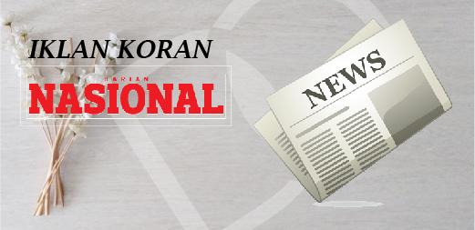 Pasang Iklan Koran Nasional