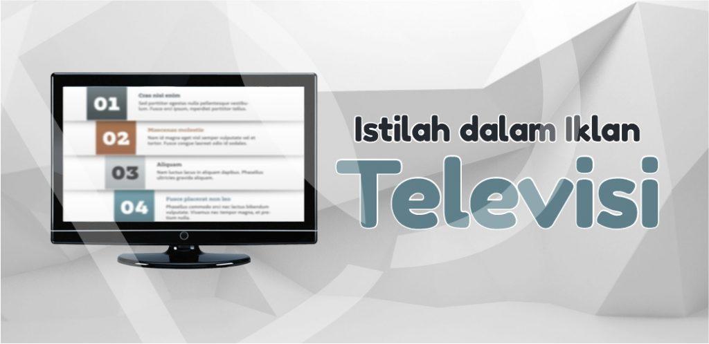 Istilah dalam Iklan Televisi