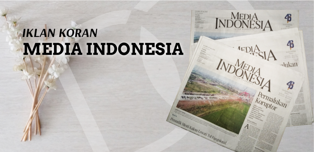 Iklan di Koran Media Indonesia