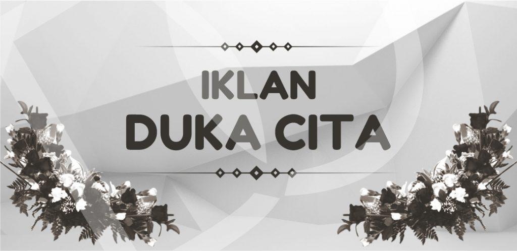 Iklan Duka Cita