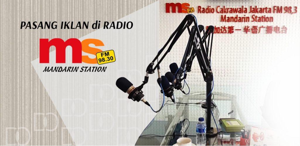 Iklan di Radio Mandarin Cakrawala