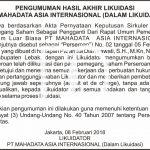Contoh Iklan Pengadaan Jasa Konsultansi