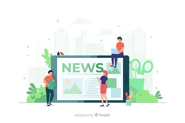 Ilustrasi News Portal